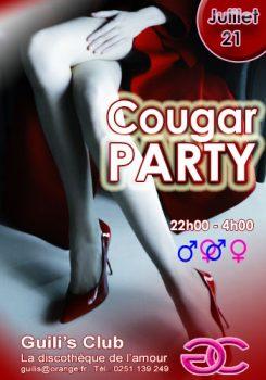 soirée cougar party Guilis Club